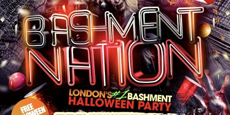 BASHMENT NATION - Bashment Halloween Party tickets