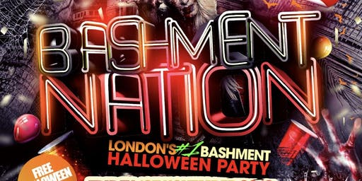 BASHMENT NATION - Bashment Halloween Party