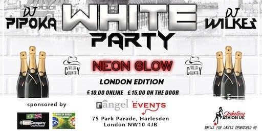 White Party Neon Glow London edition