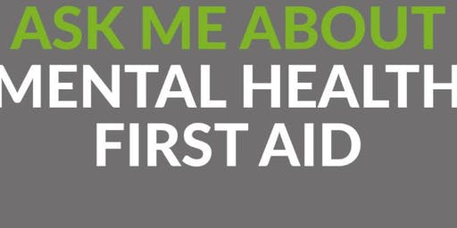 Mental Health First Aid 2 Day Qualification - MHFA England
