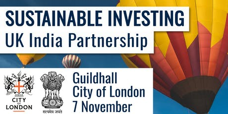 Sustainable Investing: UK-India Partnership tickets