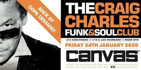 The Craig Charles Funk & Soul Club tickets