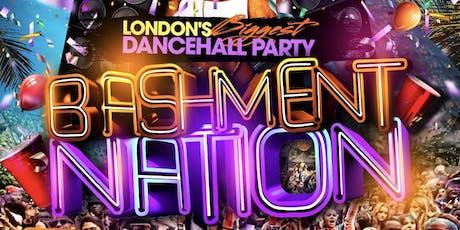 BASHMENT NATION - Shoreditch Bashment Party tickets