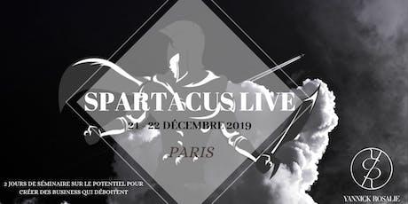 Spartacus Live billets