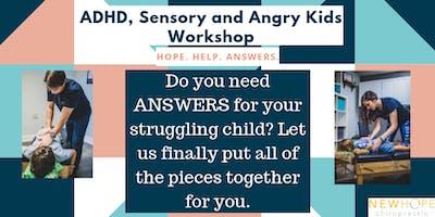 ADHD, Sensory & Angry Kids Workshop