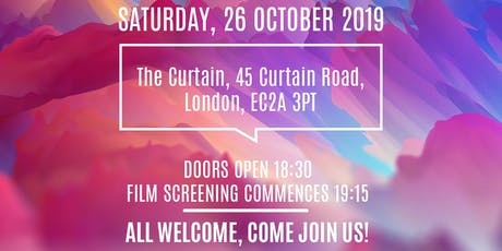 UFP FILM CLUB - THE PEANUT BUTTER FILM SCREENING  on 26 October 2019 tickets