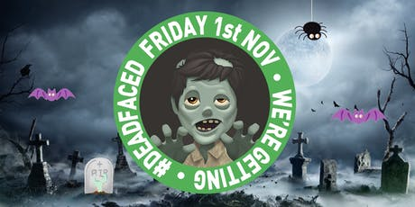 DEADFACED - Shedfaced Halloween Party tickets