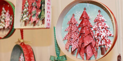 Origami Christmas Tree Ornaments