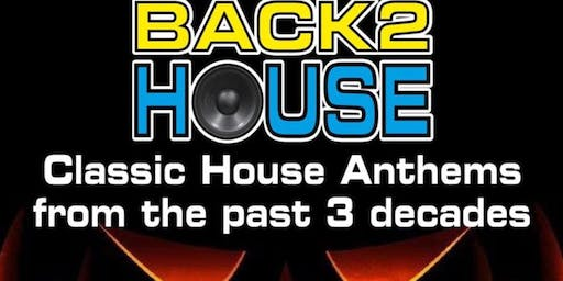 Back2House Halloween Party with DJ Steve Facey