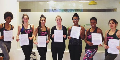 Barre Instructor Certification Course tickets