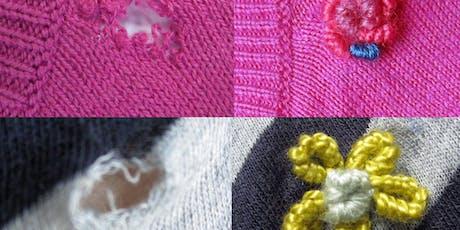 Pretty Repairs | Pretty Ways to Mend Broken Clothes tickets