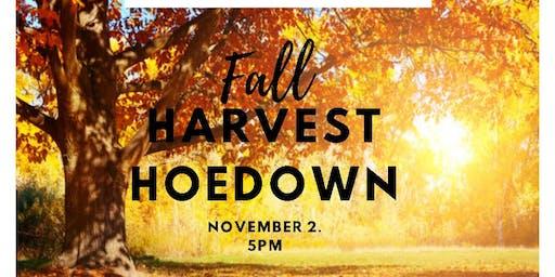 Vendor Sign Up for Fall Harvest Hoedown