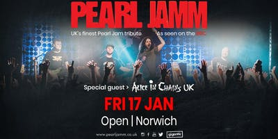 Pearl Jamm Live at Open, Norwich