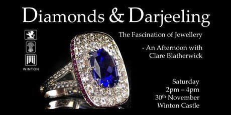 Diamonds and Darjeeling - The Fascination of Jewellery - Clare Blatherwick tickets