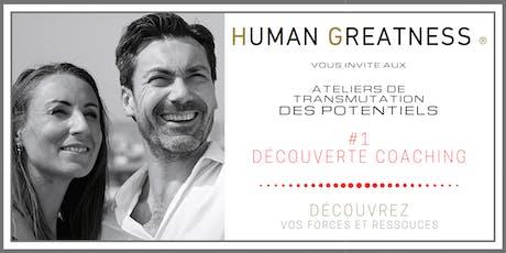 Séminaire #1 : Découverte Coaching - Paris  billets