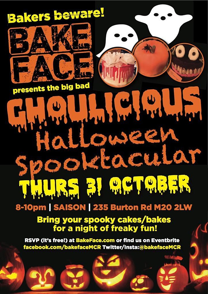 BakeFace Ghoulicious Halloween Party image
