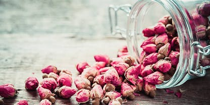 Introduction to Ayurveda and roses for the heart center