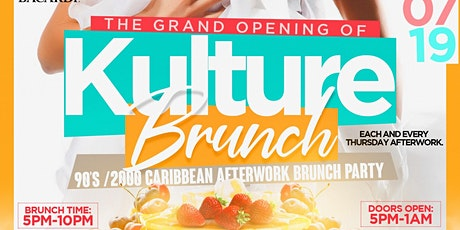 Kulture Afterwork Brunch  tickets