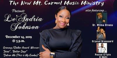 Le'Andria Johnson in Concert