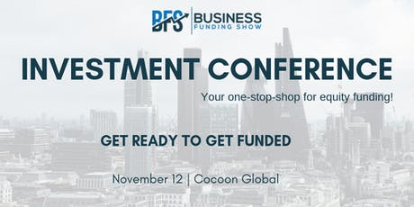 Investment Conference tickets