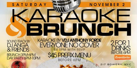 Karaoke & Brunch tickets