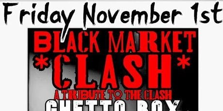 The Clash (Black Market )/ Rancid ( Ghetto Box )/ Nirvana ( Skirt Cobain ) tickets