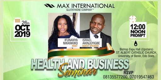 Health And Business Seminar