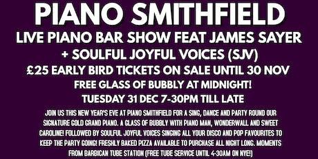 New Year's Eve at Piano Smithfield! tickets