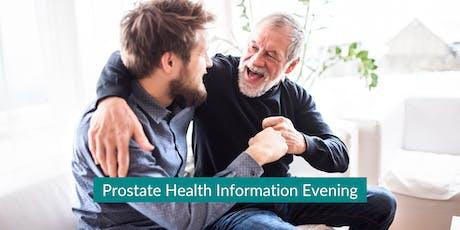 Prostate Health Information Evening tickets