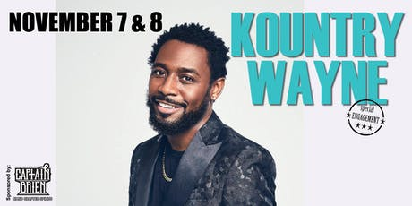 Comedian Kountry Wayne Live in Naples, Fl Off The Hook Comedy Club tickets