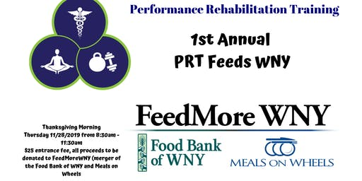 1st Annual PRT Feeds WNY