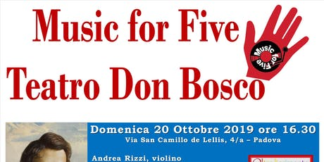 Music for Five biglietti