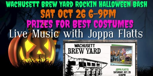 Oct 26 Halloween Bash/ Costume Contest/ Live Music at Wachusett Brew Yard!