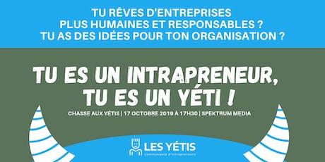L'intrapreneuriat à Québec   Échanges et discussions tickets