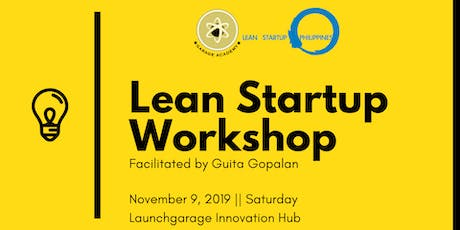 Lean Startup Workshop - The Art of Working on New Ideas tickets