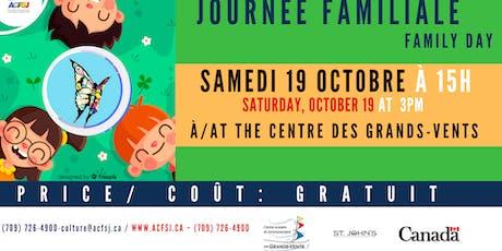Festival du vent  : Journée familiale / Family day tickets