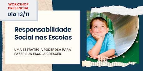 Responsabilidade Social nas Escolas: uma estratégia poderosa para crescer ingressos