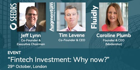 Fintech Investment: Why now? tickets