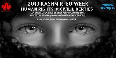 2019 Kashmir-EU Week: Human rights & Civil liberties
