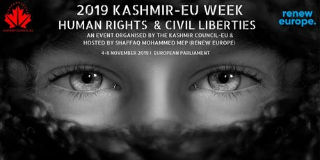 2019 Kashmir-EU Week: Human rights & Civil liberties tickets