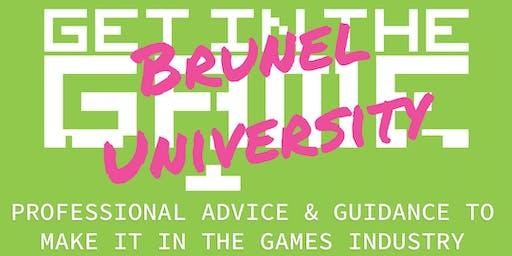 Get in the Game Careers Talks; Brunel University