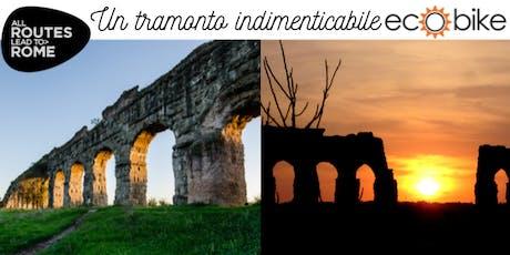 All Routes Lead to Rome - Tramonto al Parco degli Acquedotti  biglietti