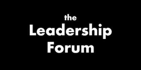 Leadership Forum tickets