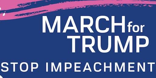 March for Trump - Sign waving at Marsh Landing, Jax Beach
