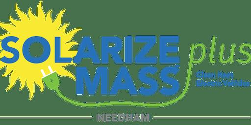 Solarize Needham: Green Home Showcase