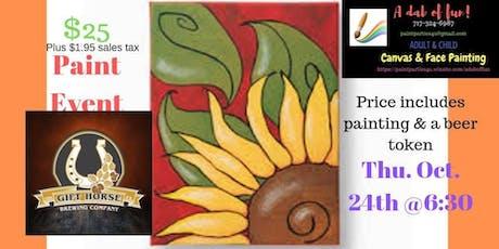 Sunflower Paint Event tickets