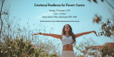 Emotional Resilience for Parent-Carers tickets