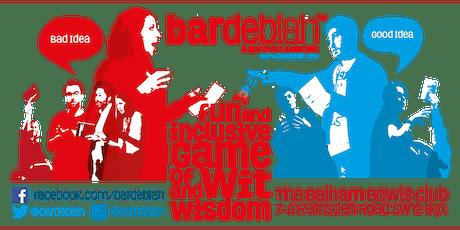 bardeblah Thursday 5th December - Christmas Special tickets
