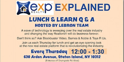 EXP Explained Lunch & Learn hosted by The Lebron T
