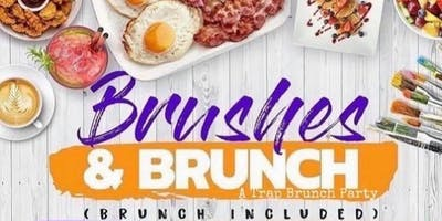 Brushes N Brunch ( A Trap Brunch Paint Party)